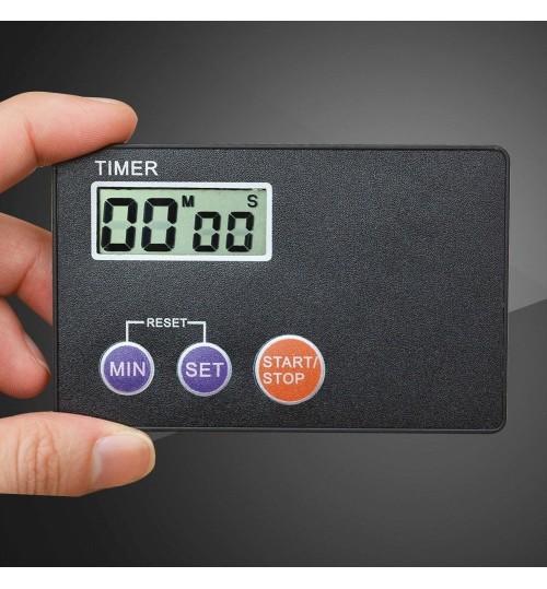 LCD Digital Power Timer Kitchen Alarm Clock