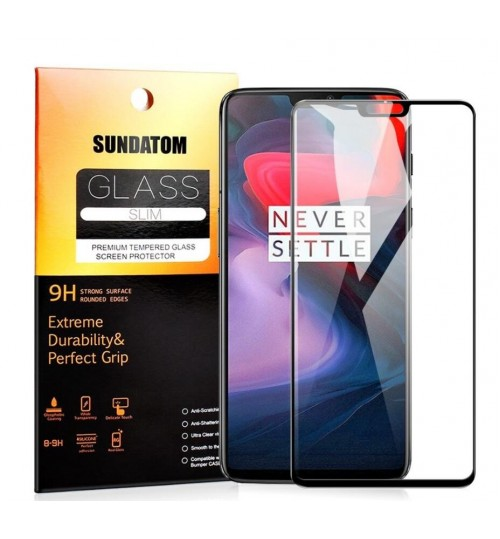 OnePlus 6 Tempered Glass FULL  Screen Protector