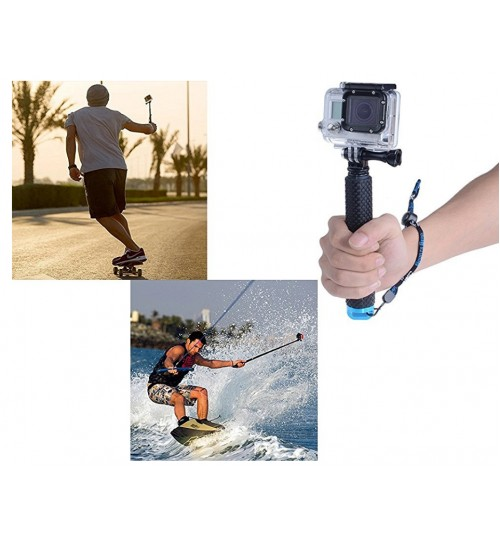 Selfie Stick Waterproof Aluminium Monopod Selfie Pole compatible with GOPRO