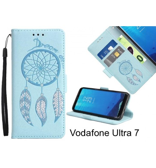 Vodafone Ultra 7 case Dream Cather Leather Wallet cover case