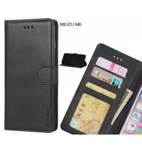 MEIZU M6 case executive leather wallet case