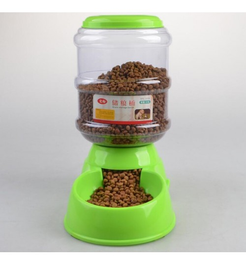 Auto Dog Feeder Dry Food