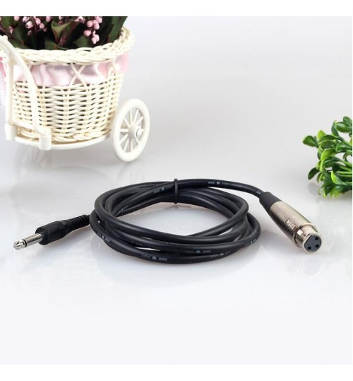 6.5mm Mic Microphone Cable 3m