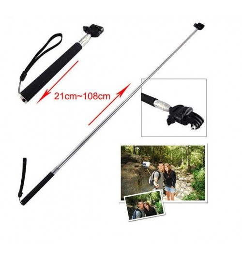Selfie Stick Monopod for GoPro Hero 1/2/3/4/5 Black