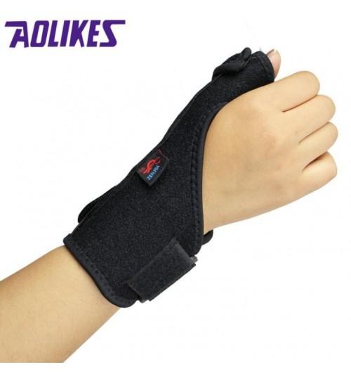 AOLIKES Adjustable Medical Sport Thumb Spica Splint Brace Support RIGHT
