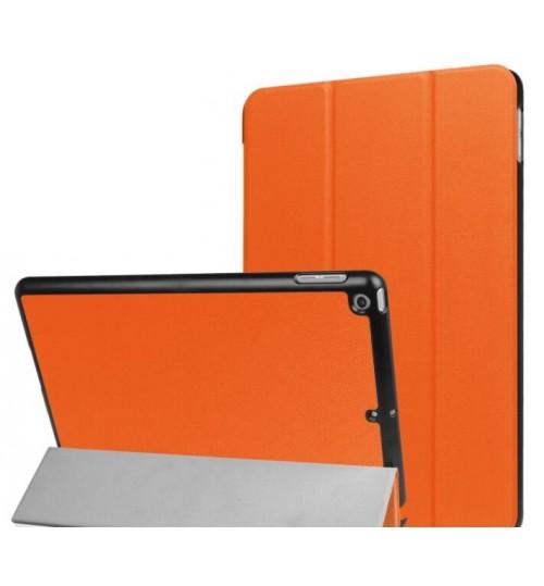 iPad 9.7 2017 Leather Slim Flip Case