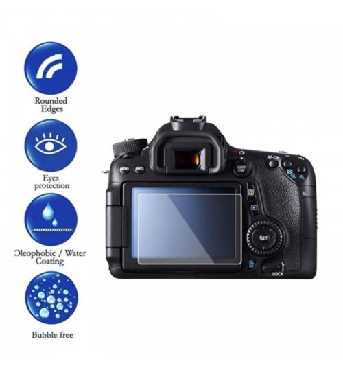 Canon LCD Screen Protector Tempered Glass For Canon 650D 70D 700D 750D 80D