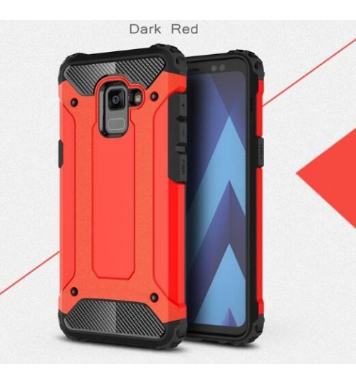 Galaxy A8 plus 2018 Case Armor Rugged Holster Case