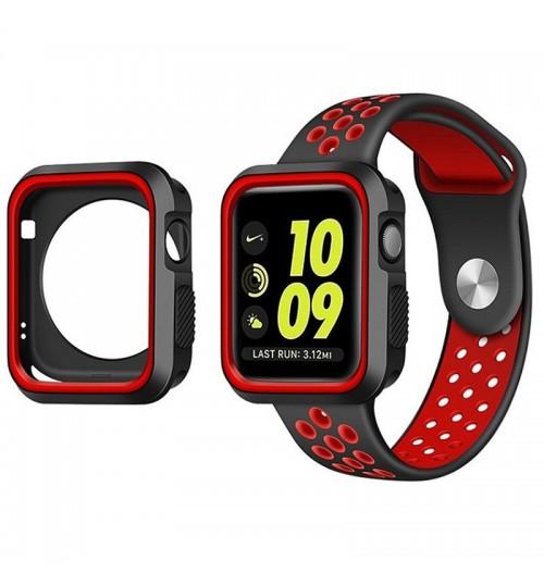 Apple watch iwatch Case Cover gen 42mm Protective Gel Silikon Bumper S3/2/1