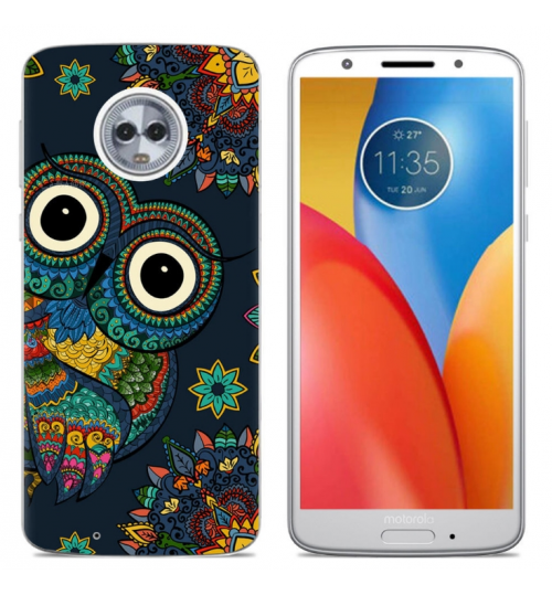 Moto G6 Plus case Ultra Slim Soft Gel TPU printed case soft cover