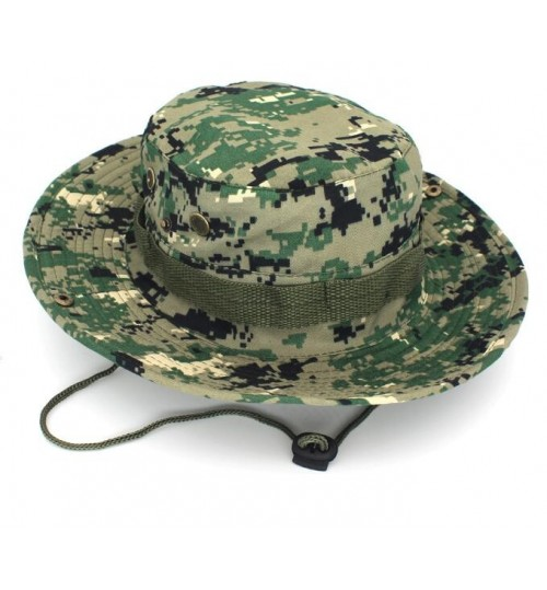 Army Bucket Boonie Cap Hat Fishing Camping Hiking Jungle Camo