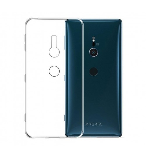 Sony xperia XZ2 case crystal clear gel ultra thin