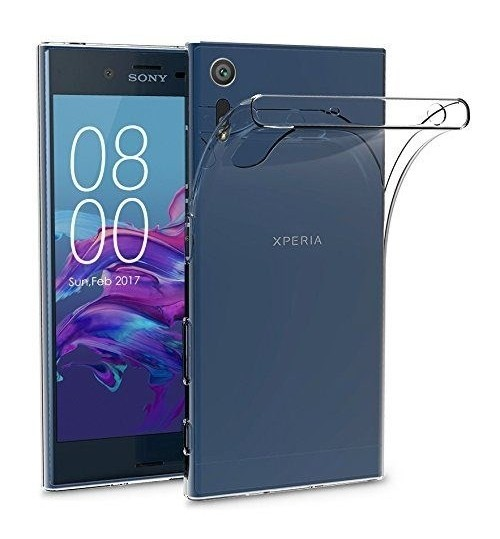 Sony Xperia XZ case crystal clear gel ultra thin