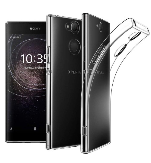 Sony Xperia XA2 case crystal clear gel ultra thin