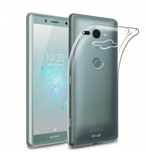 Sony Xperia XZ2 Compact Case crystal clear gel ultra thin