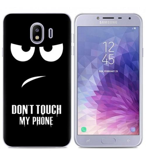 Galaxy J4 Case Printed Soft Gel TPU Case