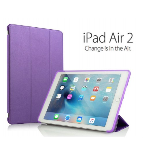 iPad Air 2 Ultra slim smart flip case +PEN