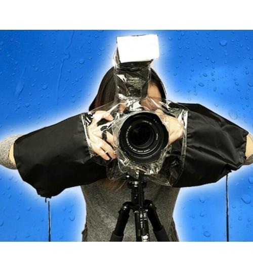 Camera Rain Cover Coat Bag Protector Rainproof