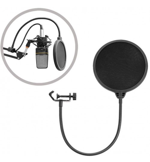 Microphone Pop Screen Dual Layer