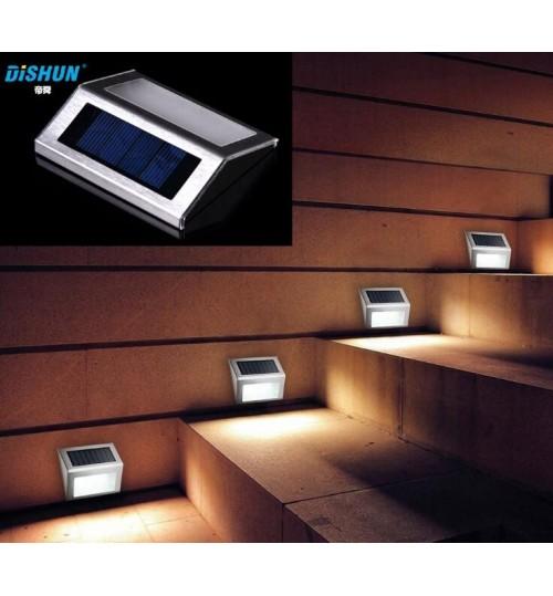Solar Wall Lights Garden Lamp  3 LED