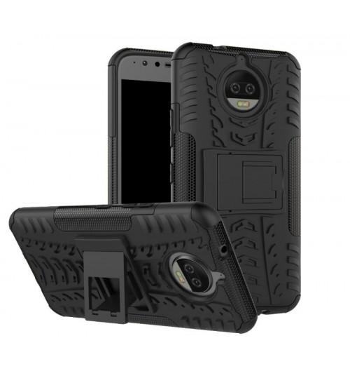 Moto G5S Case Heavy Duty Hybrid Kickstand+Combo