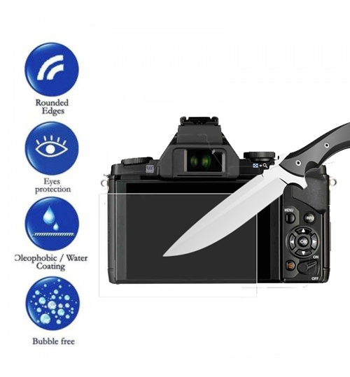 Olympus LCD Screen Protector Tempered Glass For EP5