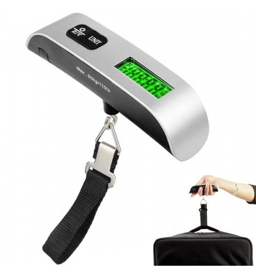 Portable LCD Digital Hanging Luggage Scale
