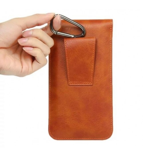 Universal Flip Leather Phones Holster Case