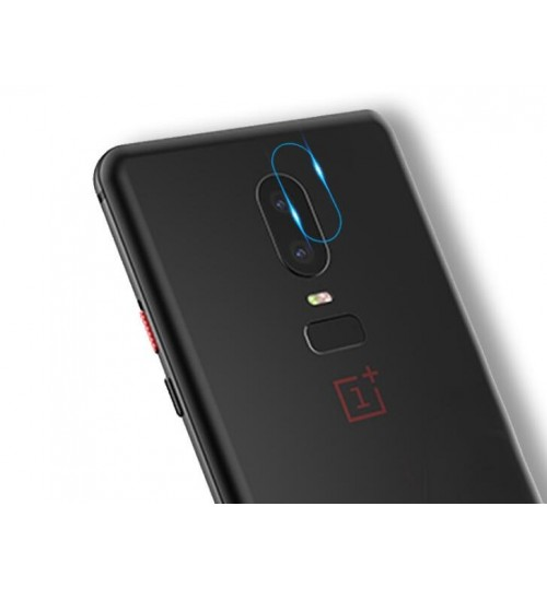 OnePlus 6 camera lens protector tempered glass 9H hardness HD