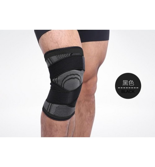 Knee Brace Support with Adjustable Compression Straps