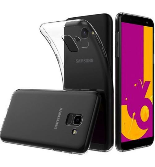 Galaxy J6 2018 Clear Slim Gel Case