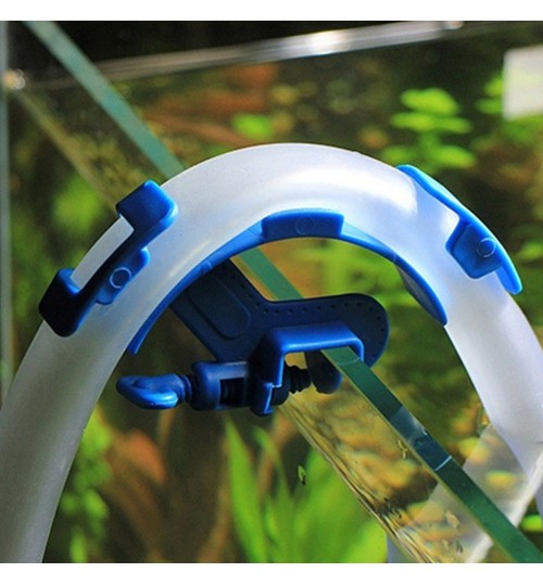 Adjustable Fish tank hose holder, Adjustable Aquarium Water Pipe Holder