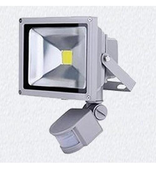 Lighting  Sensor Outdoor White LED Flood Light -10W