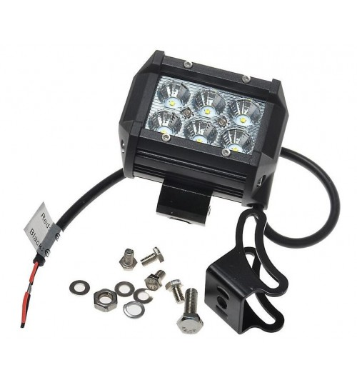 18W (6x3W) CREE LED Flood light Off Road Light Bar work light