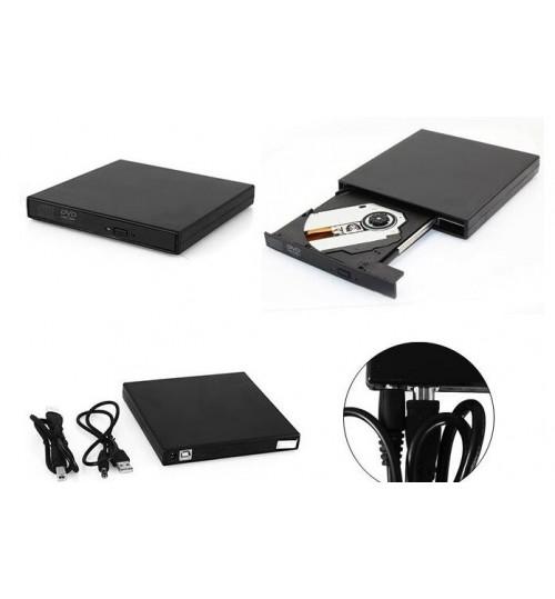 Slim Portable External USB 2.0 Optical Driver