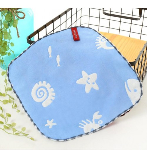 100% Cotton Dish Cloths Face Cloths for baby