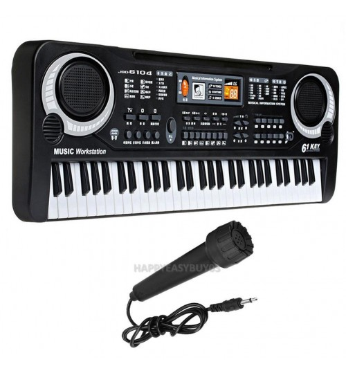 61 Keys Piano Keyboard