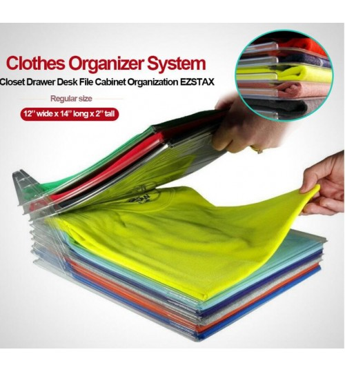 Clothes Organizer System 10 pack