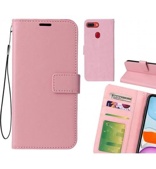 Oppo R15 Pro case Fine leather wallet case