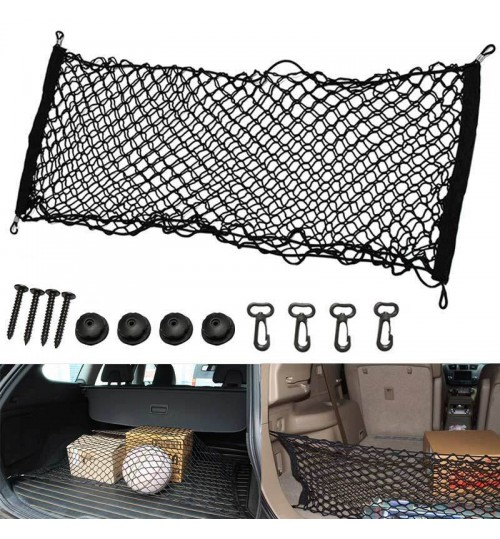 Cargo Net Hammock Vehicle Boot Trunk Storage Mesh Organizer envelope style