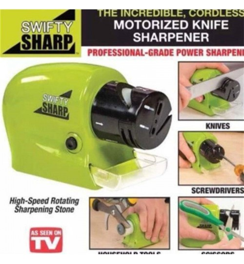 Swifty Sharp Cordless Motorized Knife Sharpener