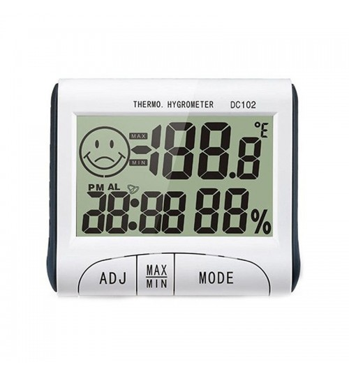 Digital LCD Thermometer Hygrometer Electronic Temperature Humidity Meter