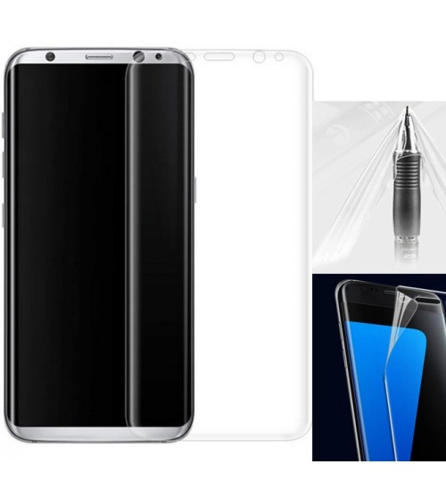 Galaxy S8 FULL screen protector curved Clear
