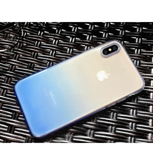 iPhone XS TPU Soft Gel Changing Color Case