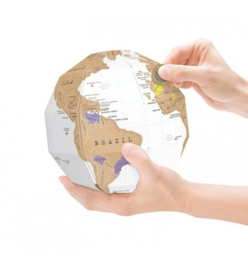 Scratch Off World Map Golbe Model Tellurion