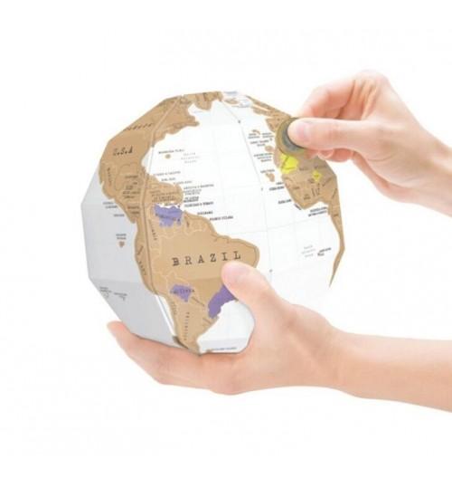 Scratch Off World Map Golbe Model Tellurion