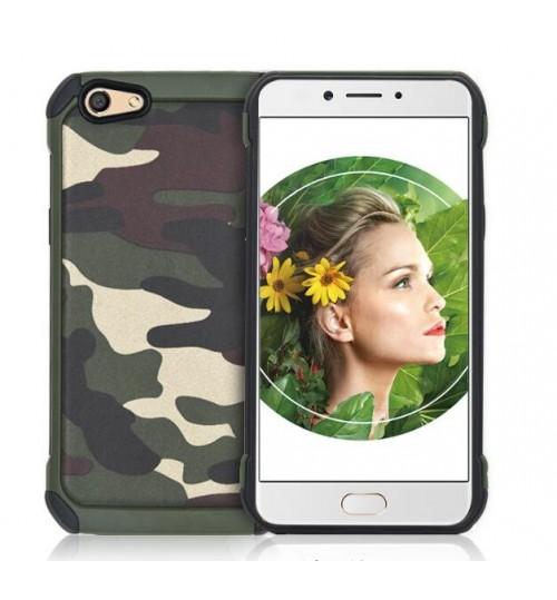 Oppo F7 impact proof heavy duty camouflage case