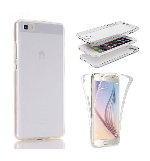 Huawei P10 lite case 2 piece transparent full body protector case