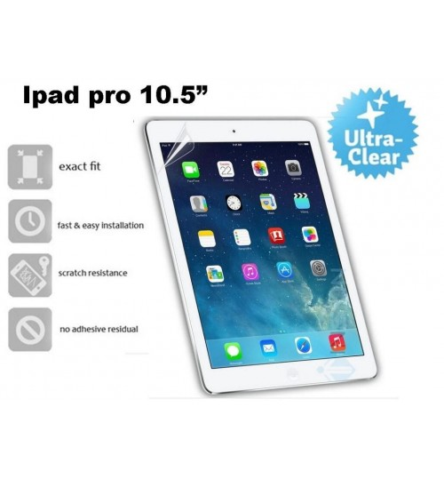 "Ipad pro 10.5"" ultra clear screen protector"