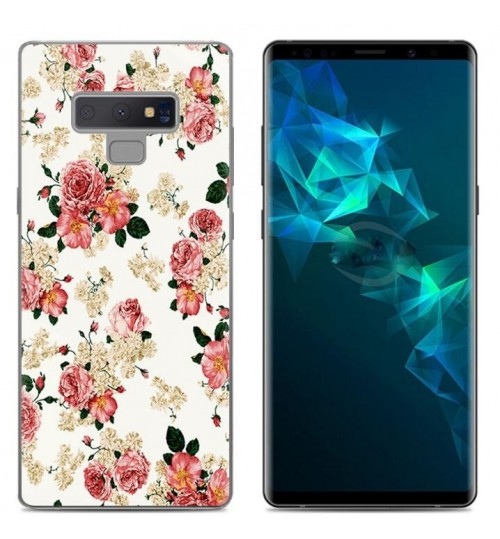 Galaxy Note 9 Case Printed Soft Gel TPU Case